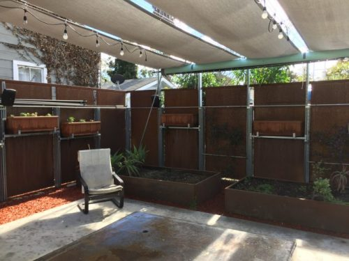 An Outside Film Viewing Area With Large Pull Down Screen And 8 Channel Sound System The Working Is 600 Square Feet 20 X 30